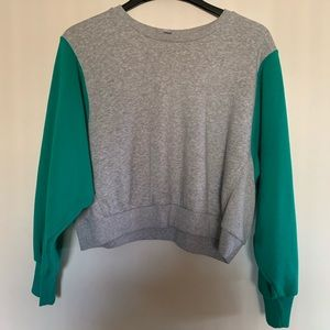 Joy Lab Cropped sweat shirt